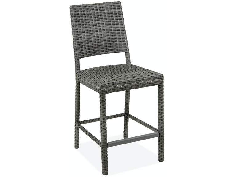Sensational Havana Saddle Grey 24 In Outdoor Padded Wicker Counter Stool Squirreltailoven Fun Painted Chair Ideas Images Squirreltailovenorg