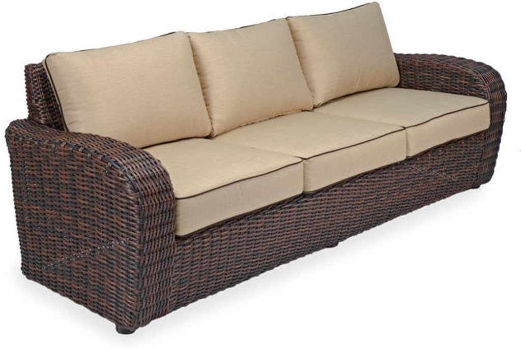 Strange Biscayne Seating Woven Outdoor Wicker Sofa Inzonedesignstudio Interior Chair Design Inzonedesignstudiocom