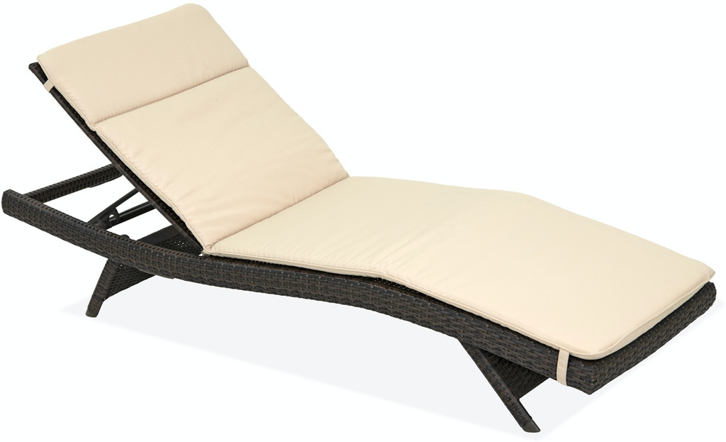 Admirable Havana Beige Solution Dyed Polyester Contour Chaise Lounge Cushion Creativecarmelina Interior Chair Design Creativecarmelinacom
