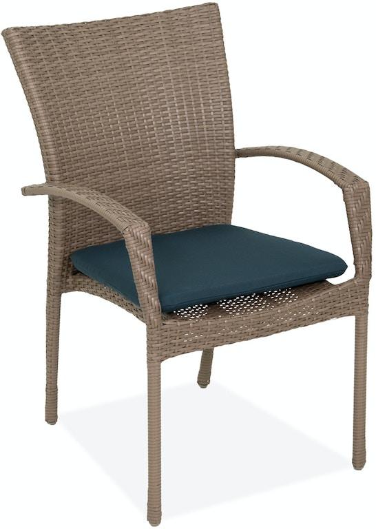 Stupendous Sierra Navy Solution Dyed Polyester Seat Pad Download Free Architecture Designs Intelgarnamadebymaigaardcom
