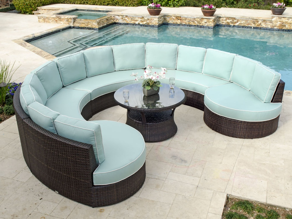 Outdoor Patio San Lucas 6 Pc Aluminum