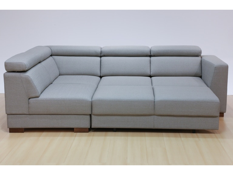 Luonto Halti Sleeper Corner Sofa in Lens 700