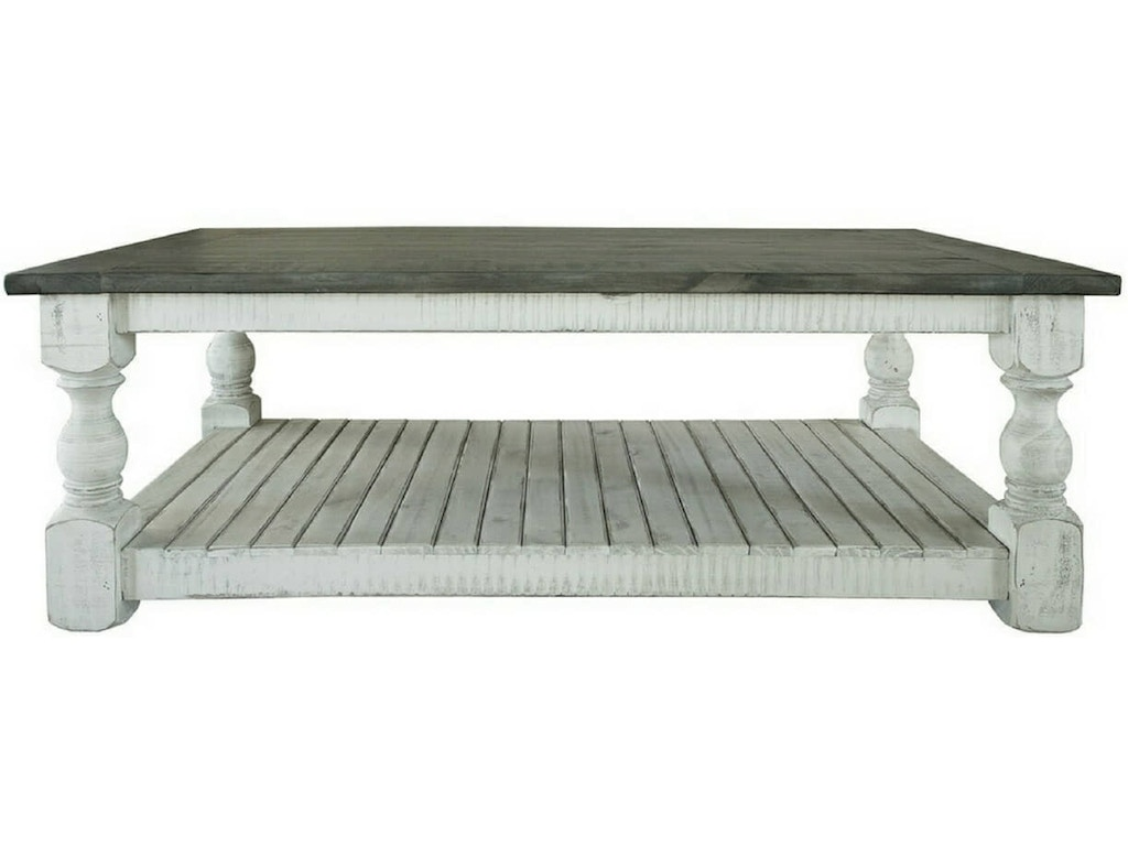 Ifd Stone White Cocktail Table Ifd469cktl
