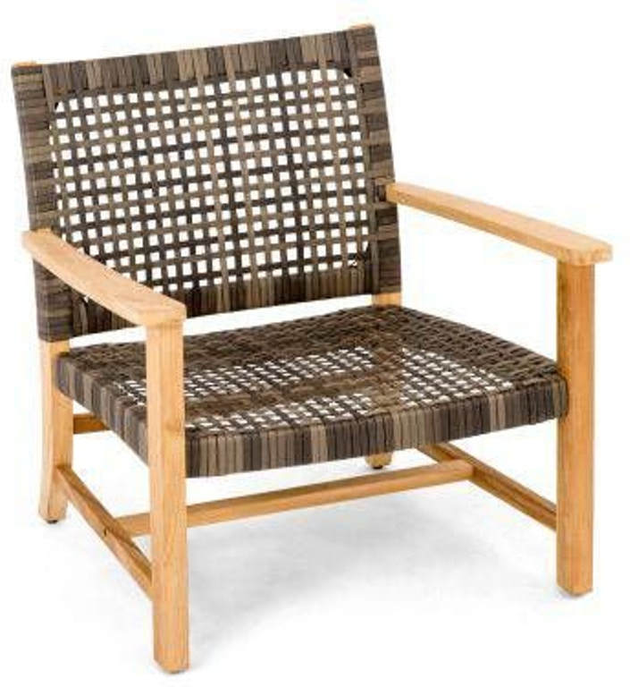 Superb Hampton Driftwood Outdoor Wicker And Solid Teak Club Chair Ncnpc Chair Design For Home Ncnpcorg