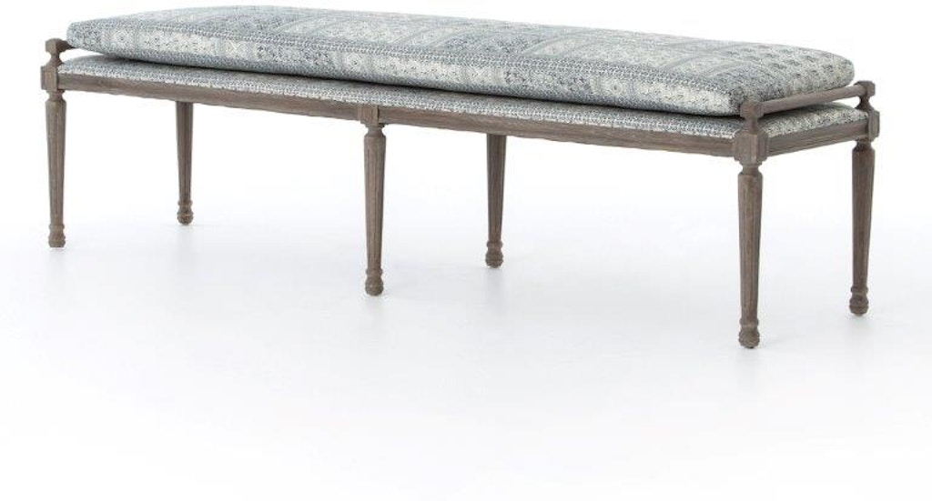 Fabulous 80 Inch Lucille Batik Dining Bench Pabps2019 Chair Design Images Pabps2019Com