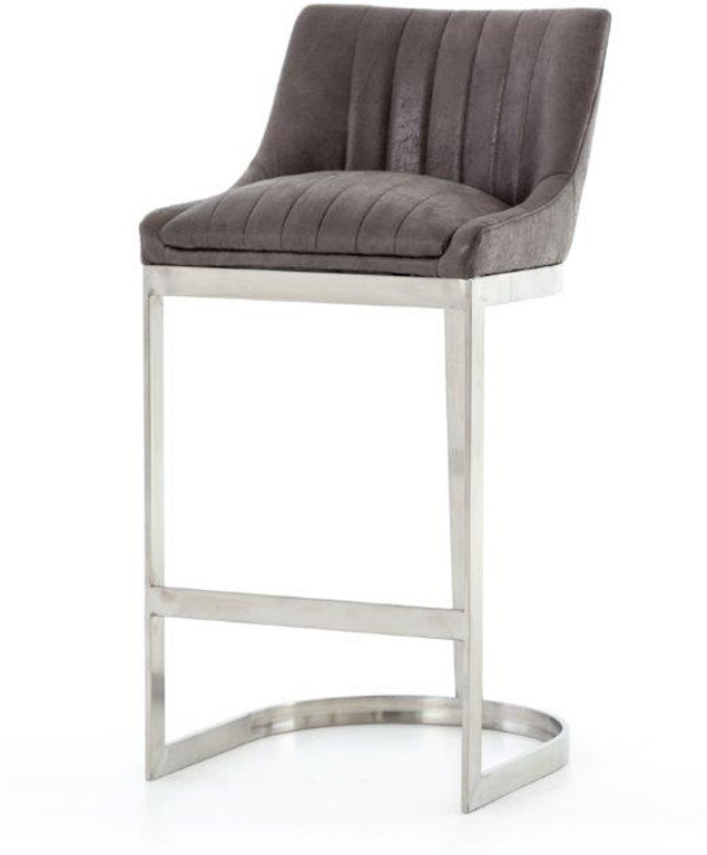 Fabulous Rory Bar Stool Graphite Theyellowbook Wood Chair Design Ideas Theyellowbookinfo