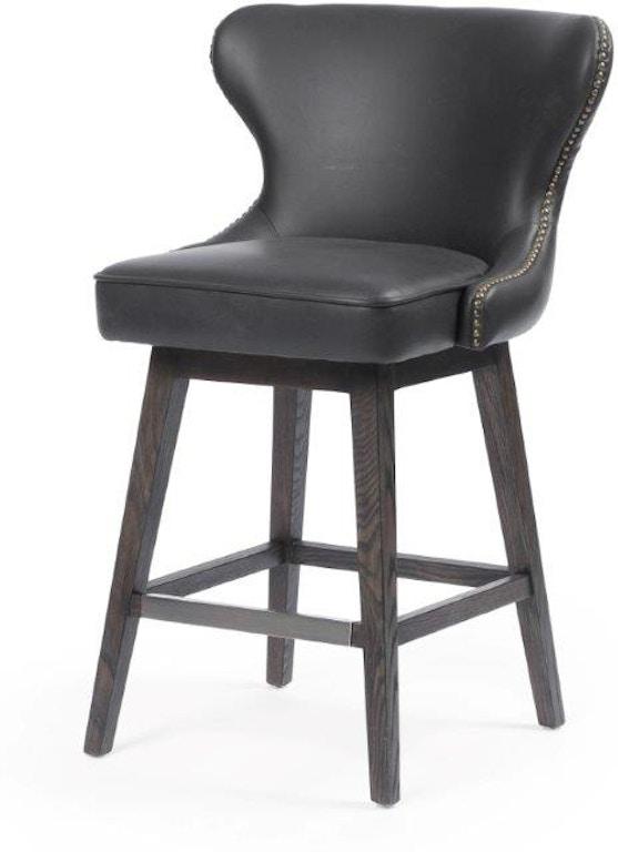 Tremendous Julie Swivel Counter Stool Distressed Black Spiritservingveterans Wood Chair Design Ideas Spiritservingveteransorg