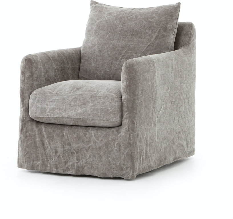 Strange Banks Swivel Chair Stonewash Jute Caraccident5 Cool Chair Designs And Ideas Caraccident5Info