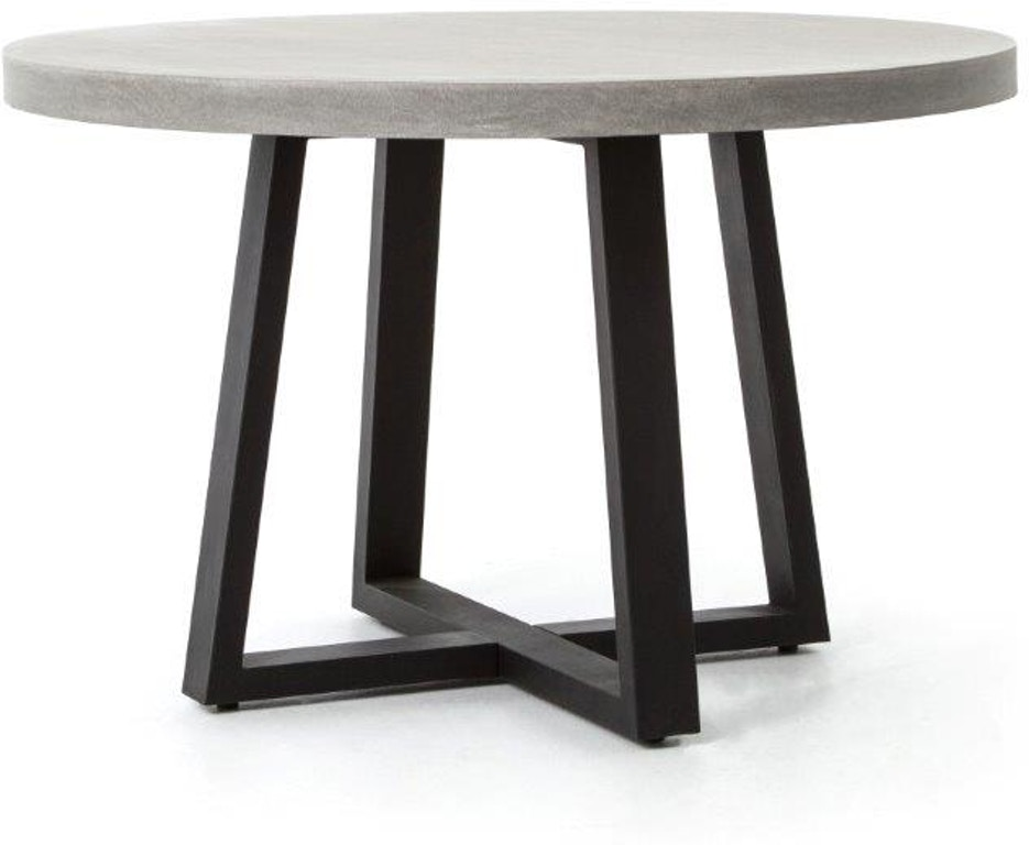 Four Hands 48 Inch Cyrus Round Dining Table Vcns F006a Seldens Designer Home Furnishings