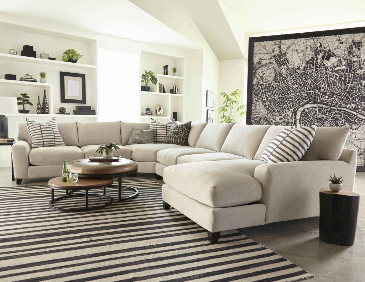 Jonathan Louis International 4 Piece Harris Collection Sectional  104 Sectional
