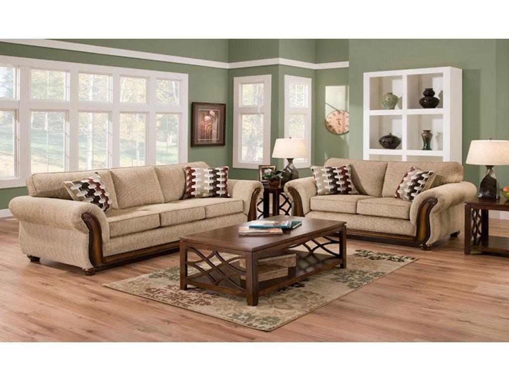 Savannah 2 Piece Living Room Group - Farmers Home Furniture