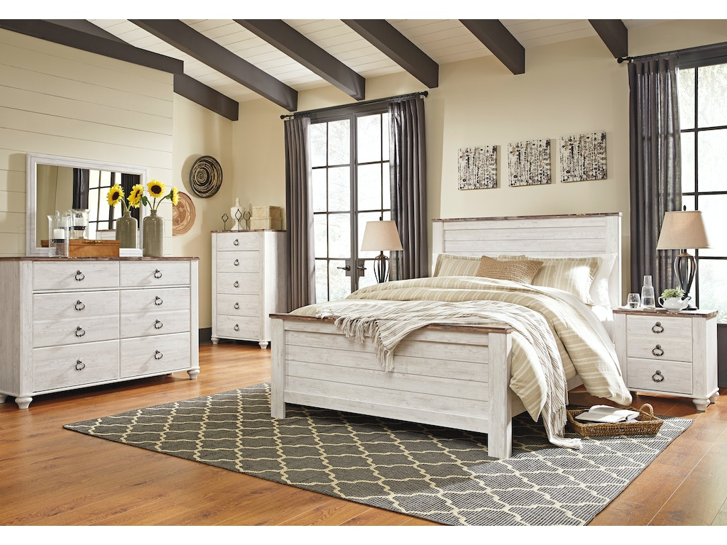 Sandy Creek Queen Bed Dresser Mirror Farmers Home Furniture