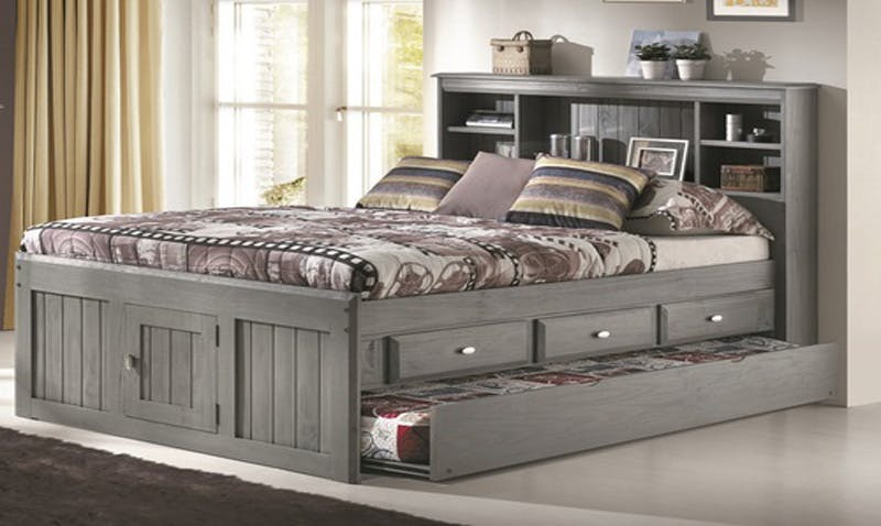 Picture of: Jordan Full Captain S Bed Farmers Home Furniture
