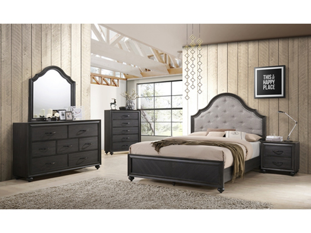 Spencer Queen Bed Dresser Mirror Farmers Home Furniture