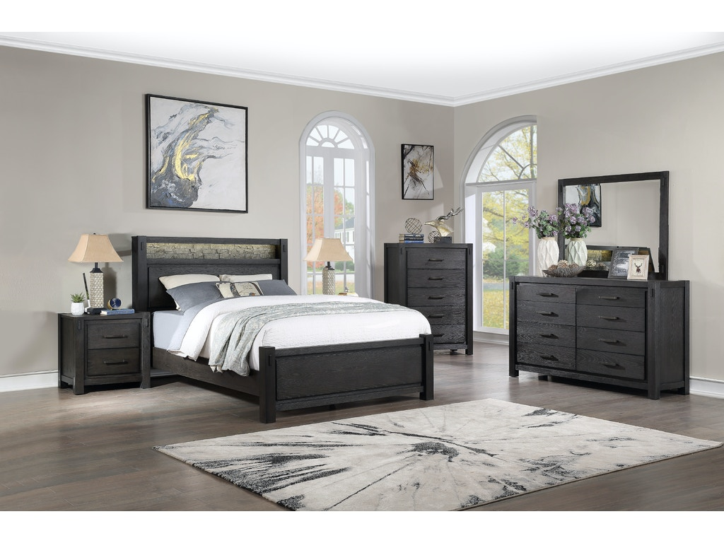 Canyon Queen Bed Dresser Mirror Farmers Home Furniture