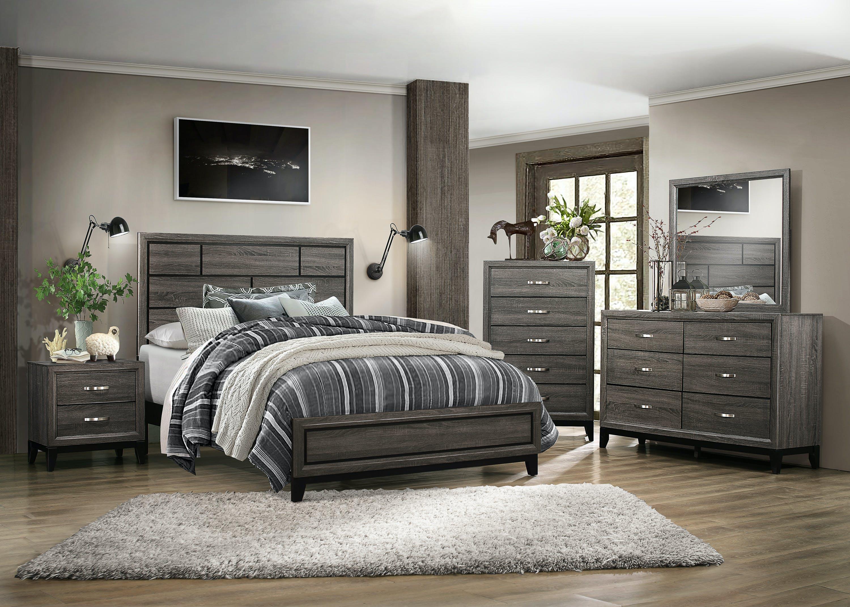 Davi Queen Bed Dresser Mirror Farmers Home Furniture