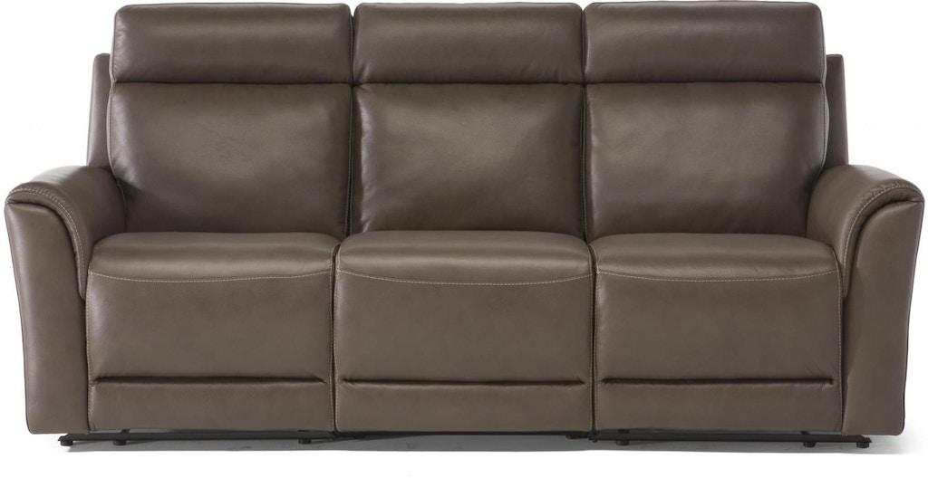 Phenomenal Estremo Brown Top Grain Leather Reclining Sofa Inzonedesignstudio Interior Chair Design Inzonedesignstudiocom