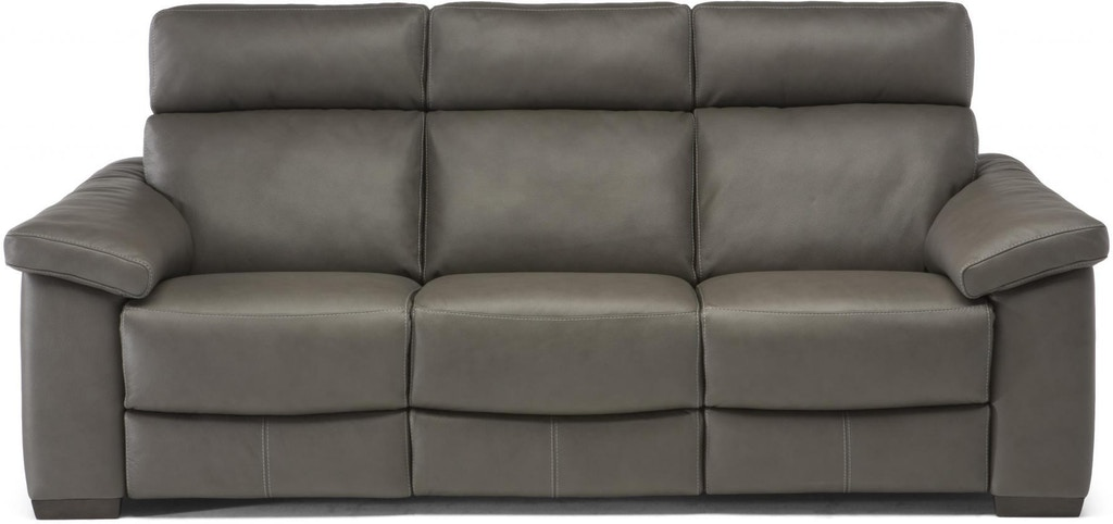 Excellent Estremo Grey Top Grain Leather Reclining Sofa Ocoug Best Dining Table And Chair Ideas Images Ocougorg