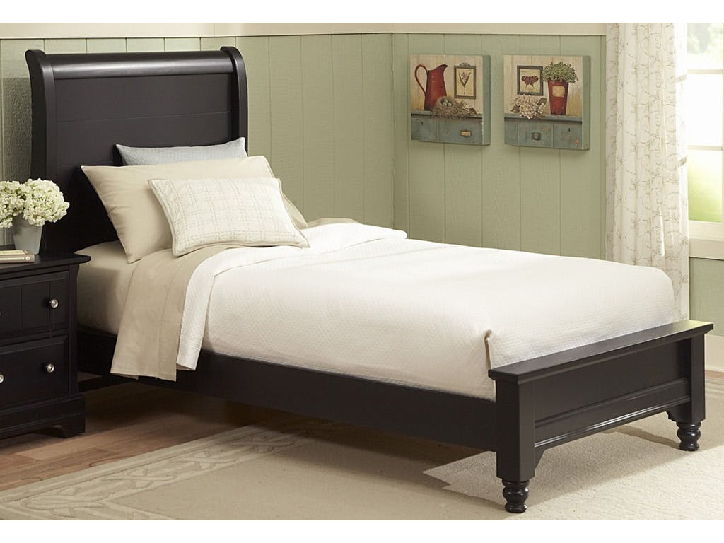Vaughan Bassett Furniture Company Bedroom Cottage Collection Twin Sleigh Bed Bb19 331 Youth Bed