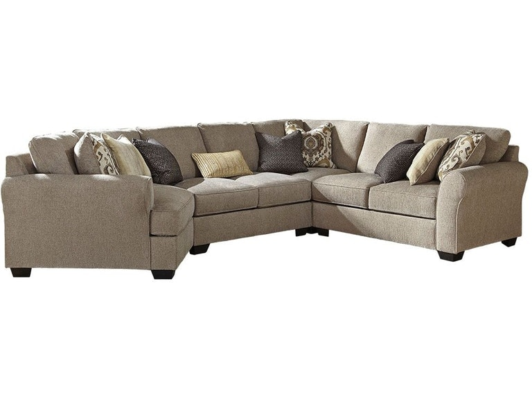 Benchcraft Pantomine 4 Piece Sectional