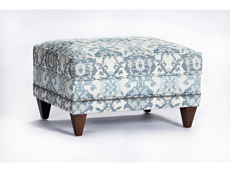Marshfield Furniture Living Room Lindsay Non Storage Ottoman Mf1934