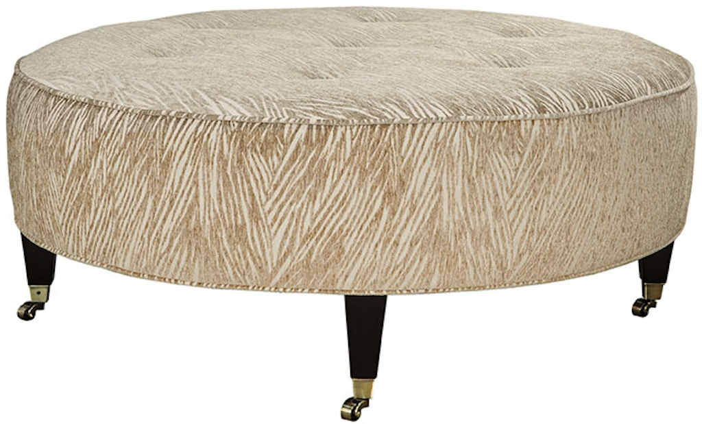 Incredible Callie Round Button Tufted Ottoman Dailytribune Chair Design For Home Dailytribuneorg