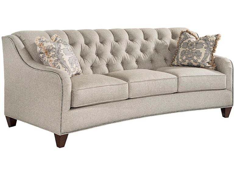 Marshfield Furniture Living Room Harlow Conversation Sofa