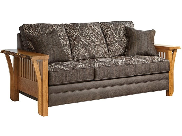 Marshfield Furniture Rustic Edge Sofa Mf1951 03