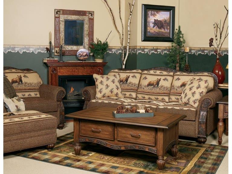 Marshfield Furniture Living Room Pine Creek Chair & 1/2