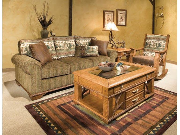 Marshfield Furniture Living Room Whitetail Ridge Sofa