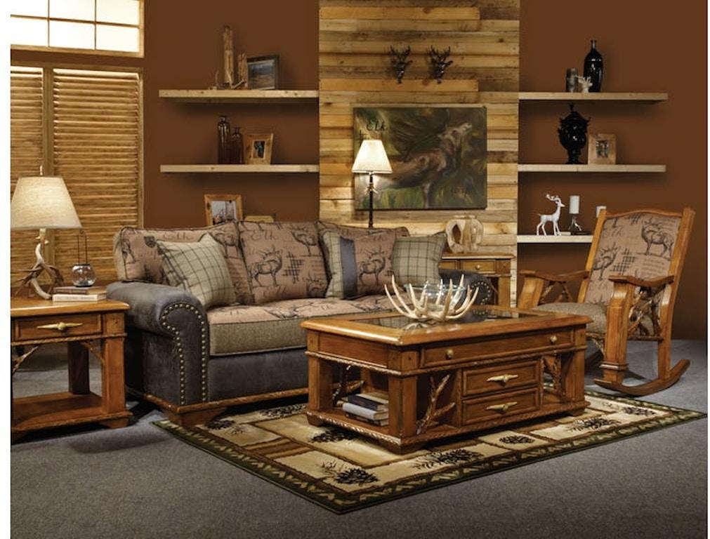 Marshfield Furniture Living Room Whitetail Ridge Rocker