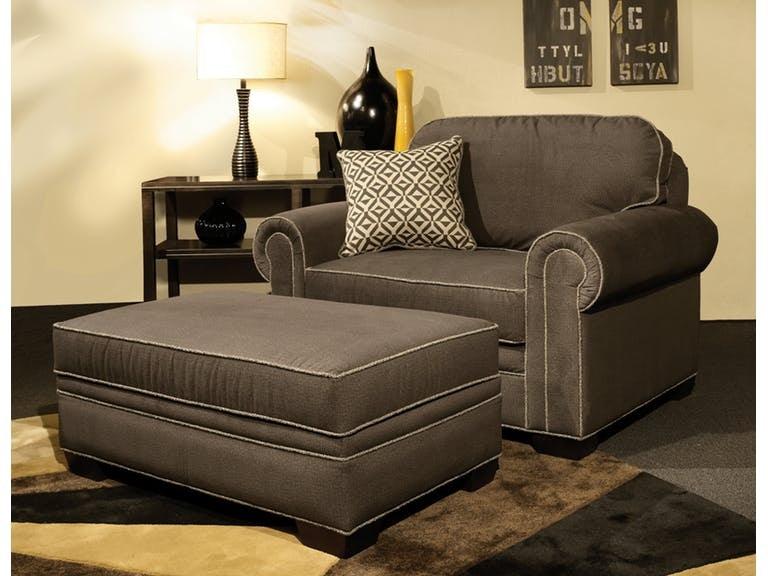 Marshfield Furniture Living Room Baldwin Chair & 1/2