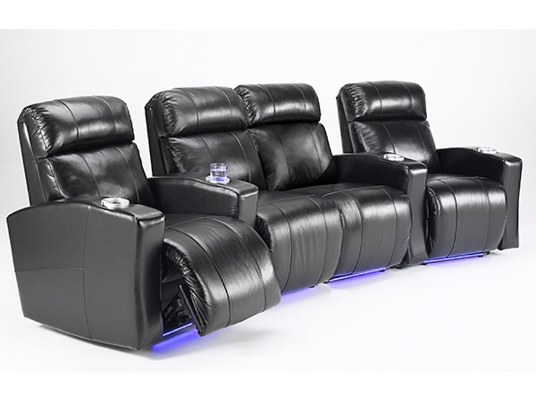 Elran Home Theatre Seating Er4008htc4pl Starting At 4 930 00