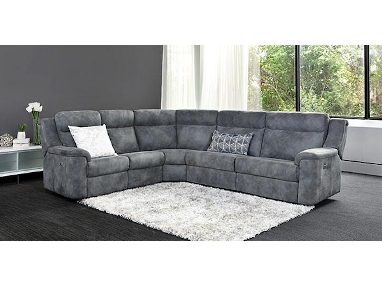 Elran Living Room Sydney Sectional ER4036ACOPH - Borofka\'s Furniture ...