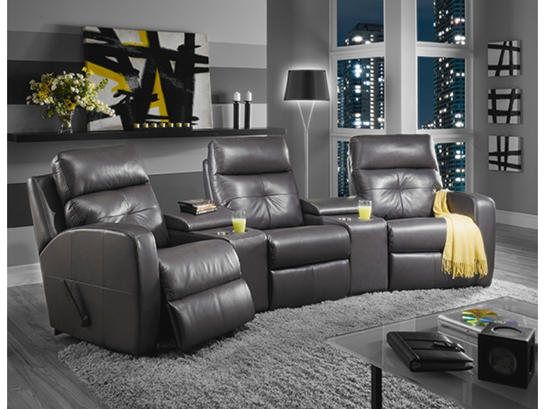 Elran Home Theatre Seating Er4047htc3