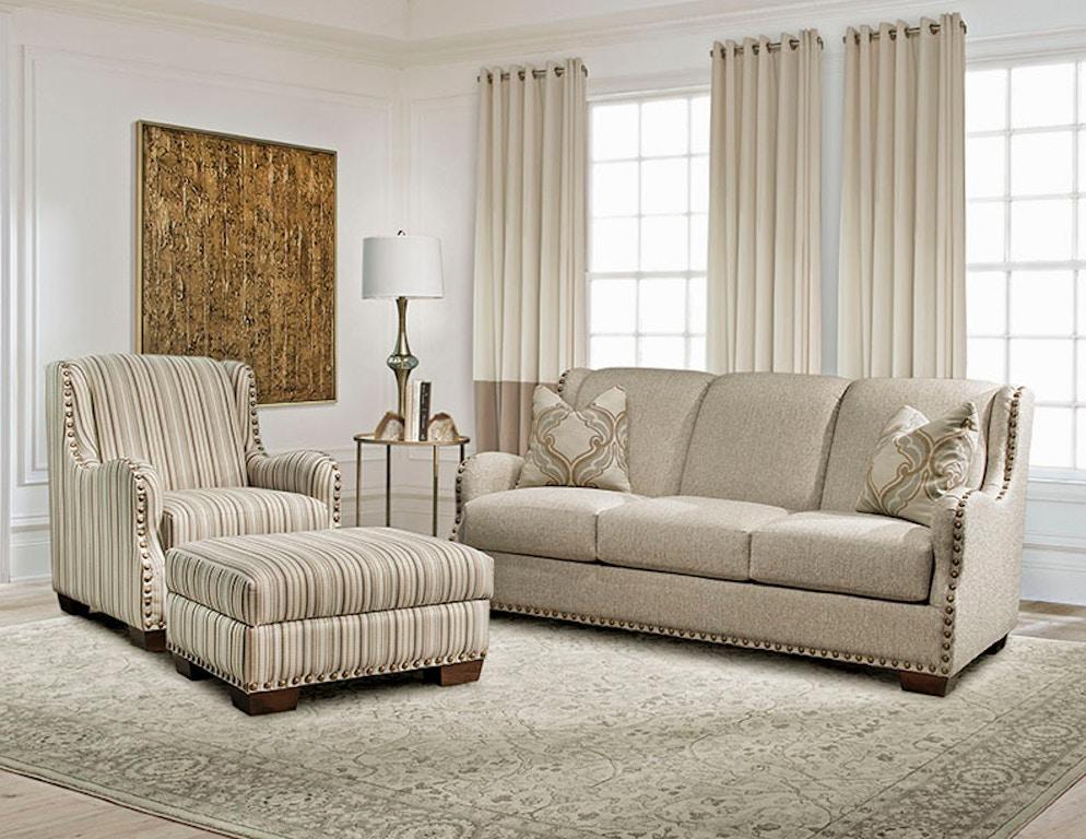 Marshfield Furniture Living Room Storage Ottoman Mf1949 09