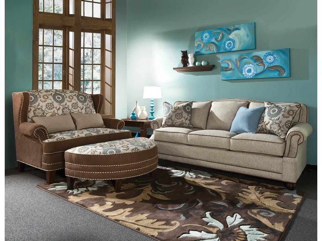 Marshfield Furniture Cornell Non Storage Ottoman MF1990 09