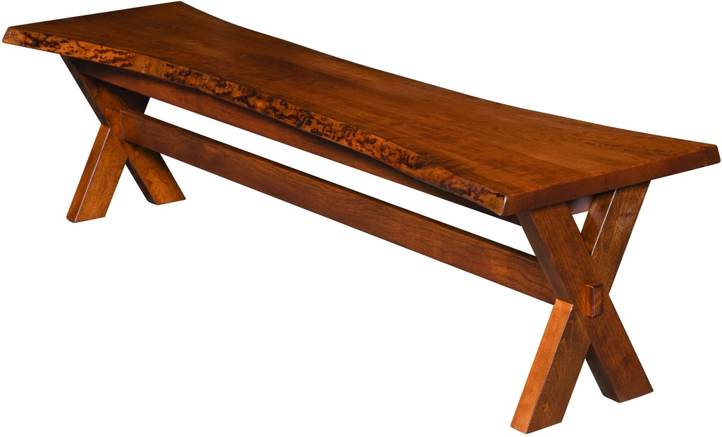Phenomenal Flint Live Edge Bench Gmtry Best Dining Table And Chair Ideas Images Gmtryco