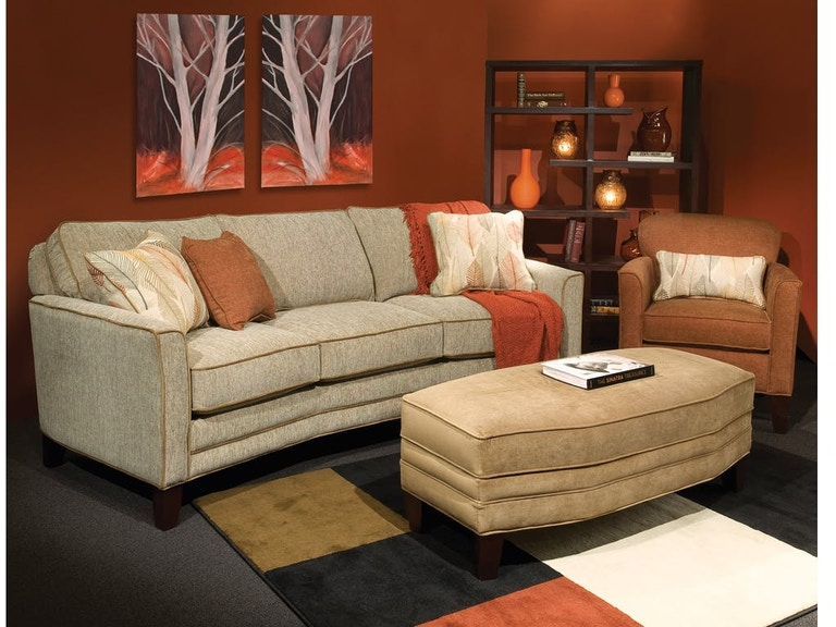 Marshfield Furniture Living Room Irene Jumbo Storage Ottoman Mf1999