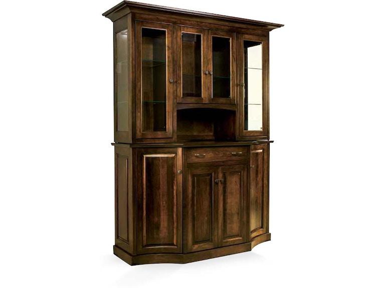 Kitchener Furniture Stores   County Line Dining Room Kitchener Hutch Cl1018 77 Borofka S