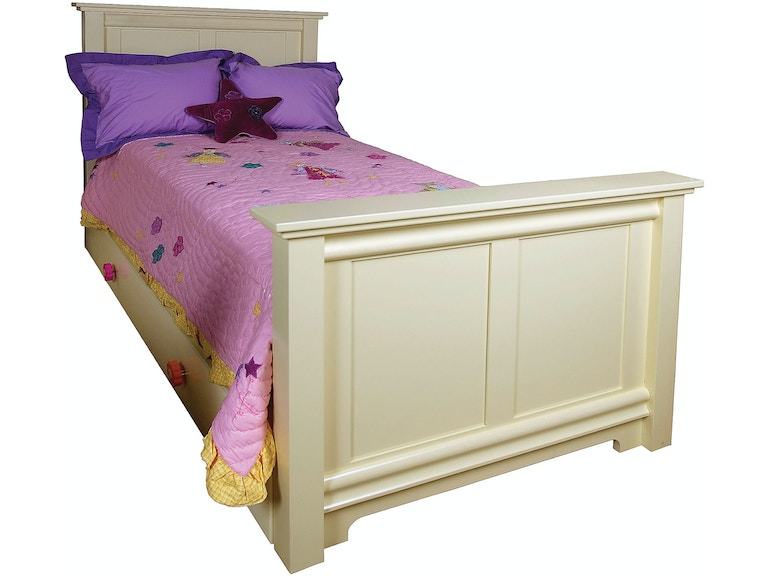 Northern Heritage Bedroom Sora Panel Bed & Drawers NH7028 ...