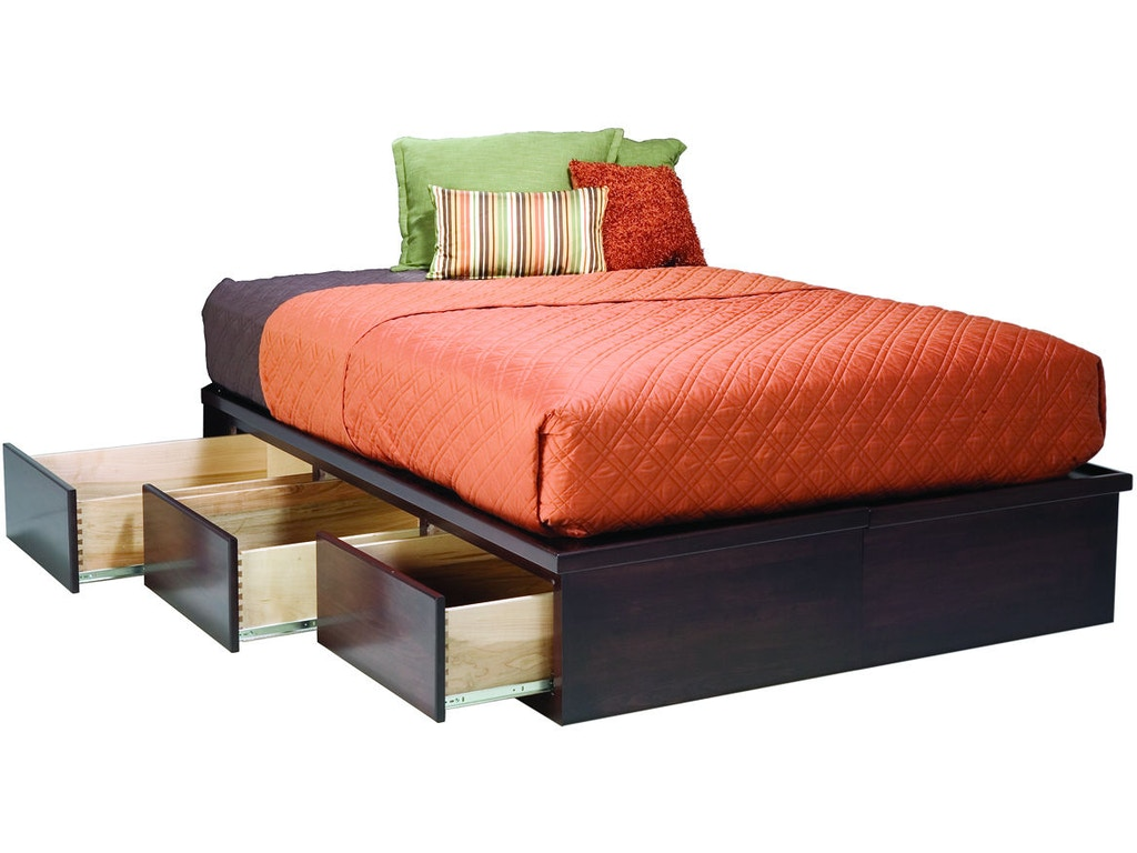 tall with big drawers space storage queen frame bed platform under saver itm