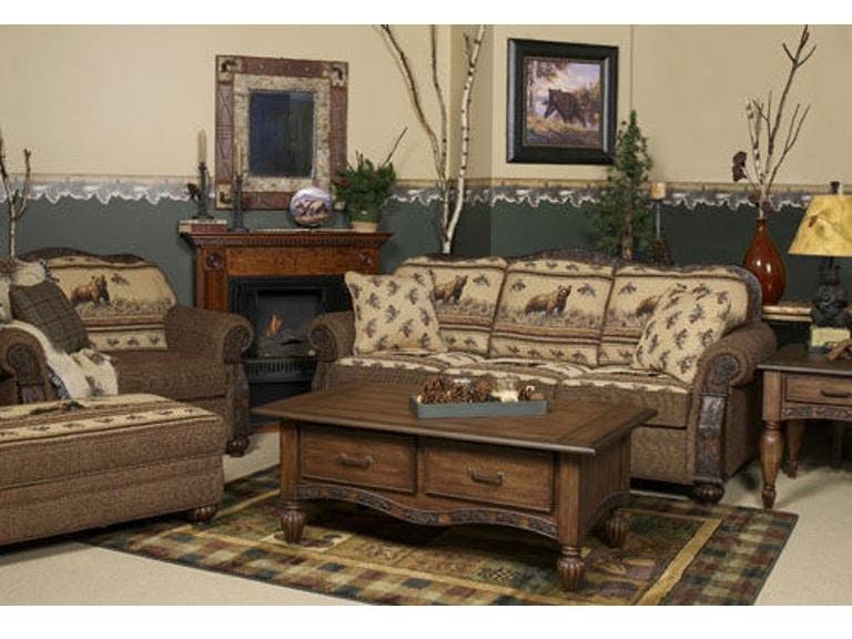 Marshfield Furniture Living Room Pine Creek Side Table Mf817414 At Borofka S