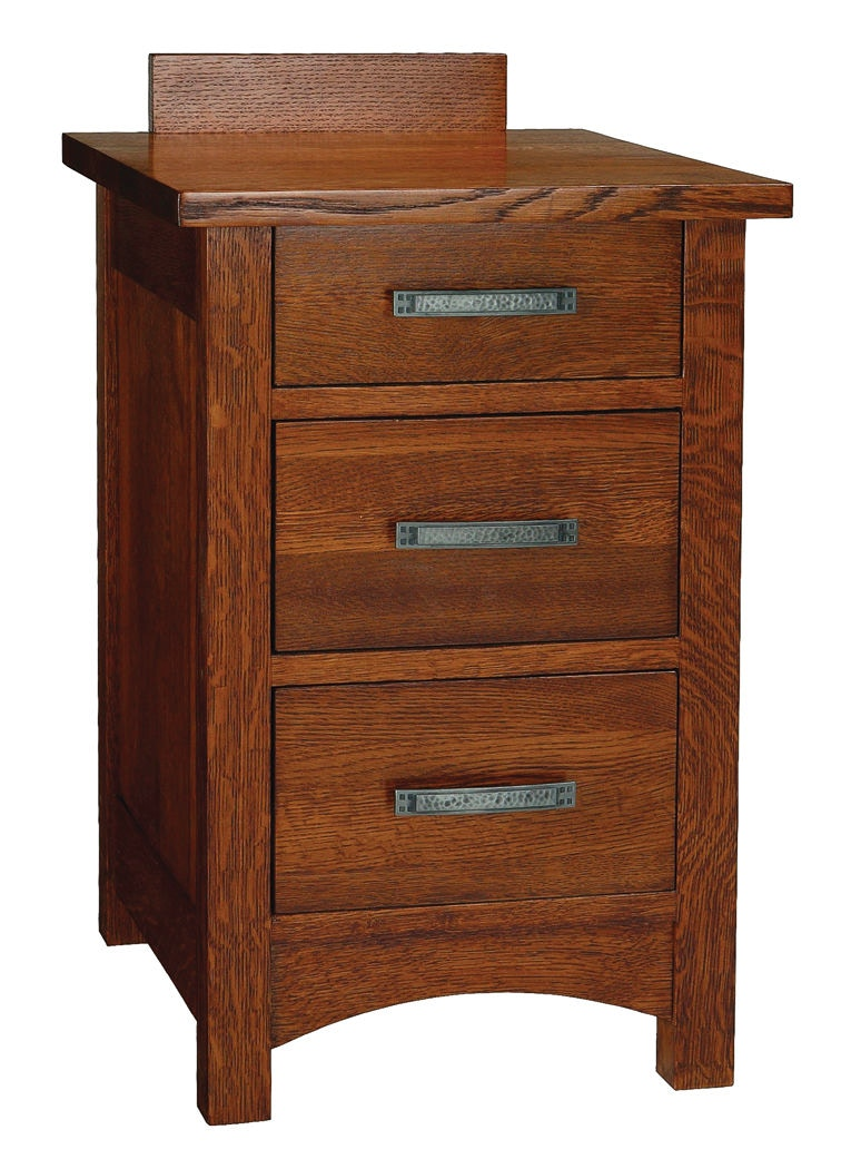 Cove Hollow 17in Tahoe 3 Drawer Nightstand SW8504