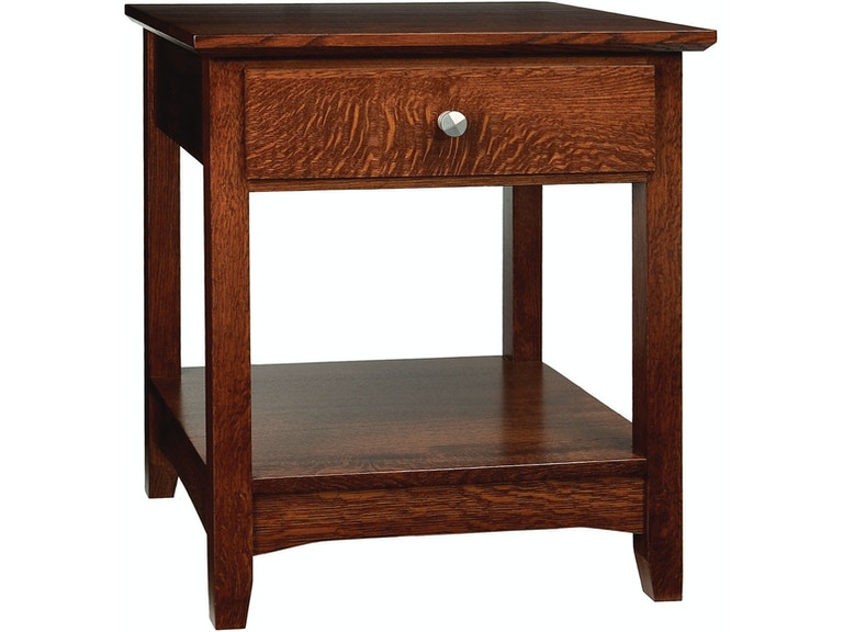 Cove Hollow Aries 1 Drawer End Table Sw9931