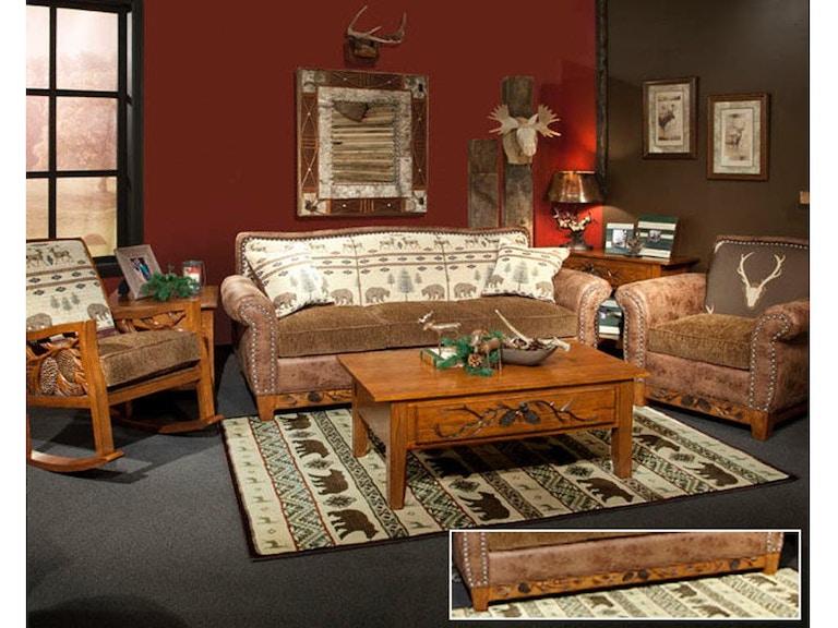 Marshfield Furniture Living Room Woodland Sofa MF1984-03