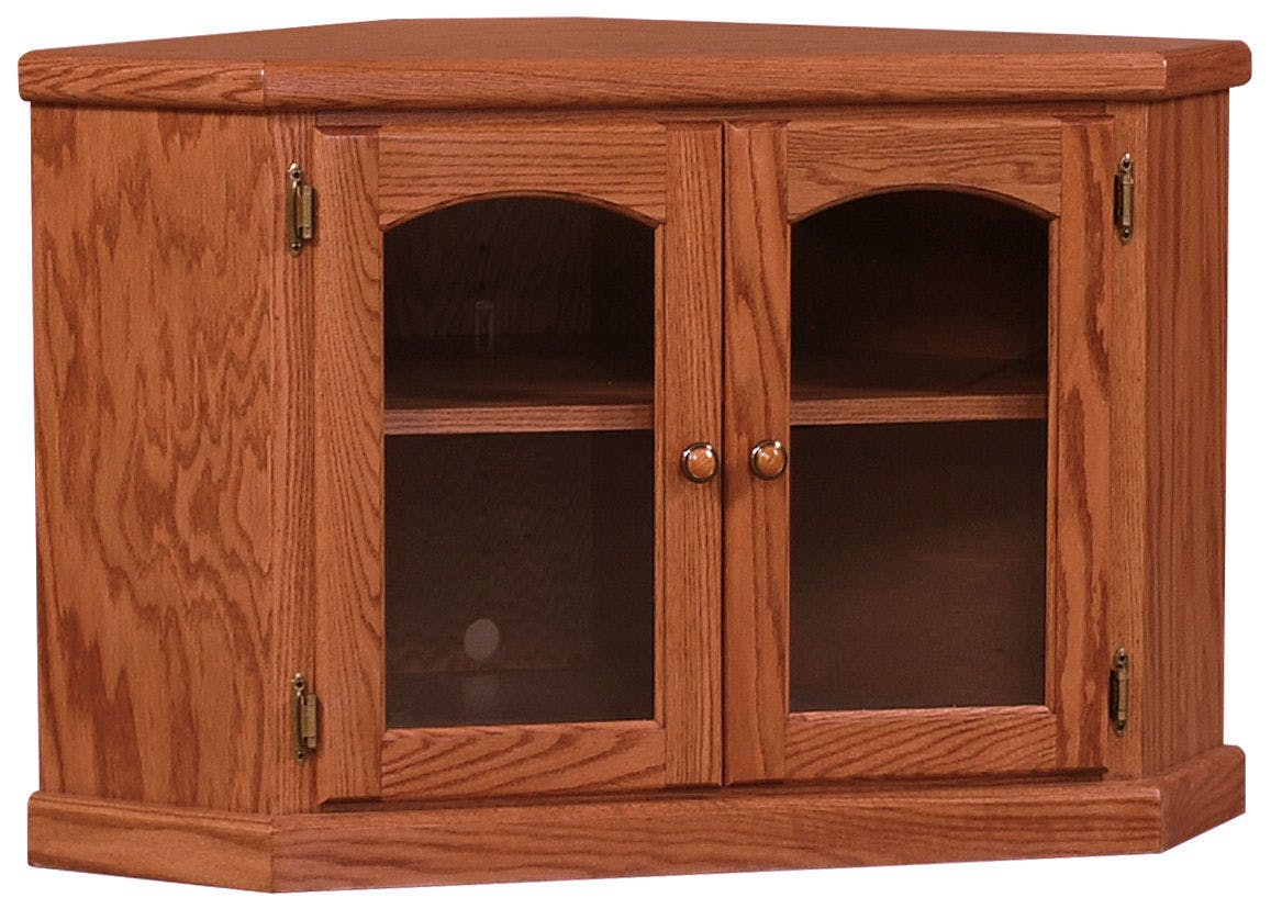 Picture of: Willow Valley Living Room Corner Tv Stand 41in Wv3106 Borofka S Furniture Woodbury And