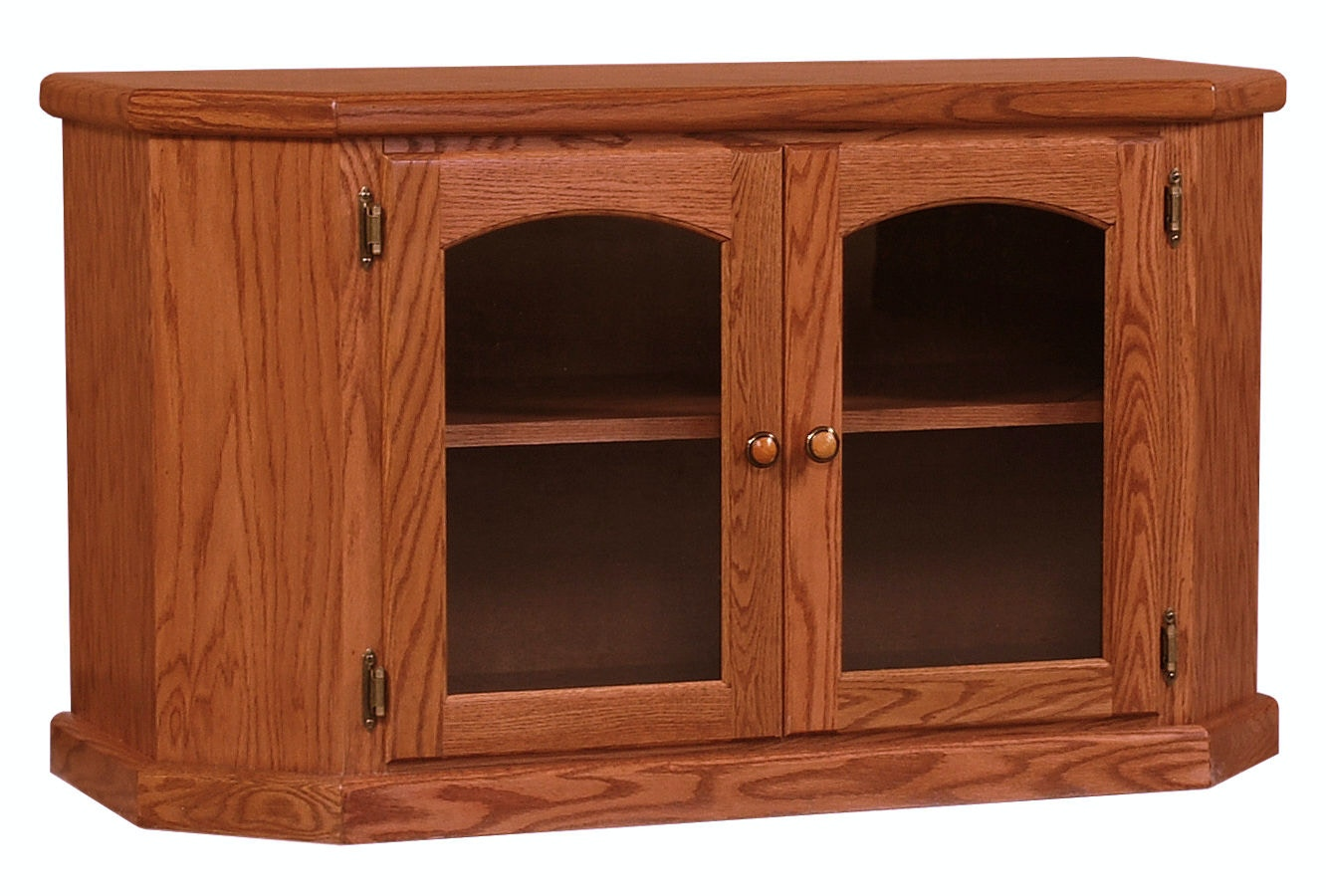 Willow Valley Living Room Angled Front Tv Stand 42 Inch Wv3442