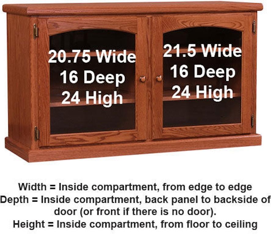 Willow Valley Living Room Tv Stand 46 Inch Doors Wv3545 Borofka S