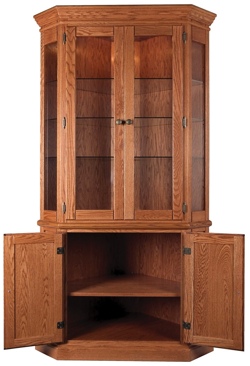 Beau Willow Valley Corner China Cabinet WV4147